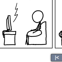 Fun Fact: Randall Munroe is a stick figure.