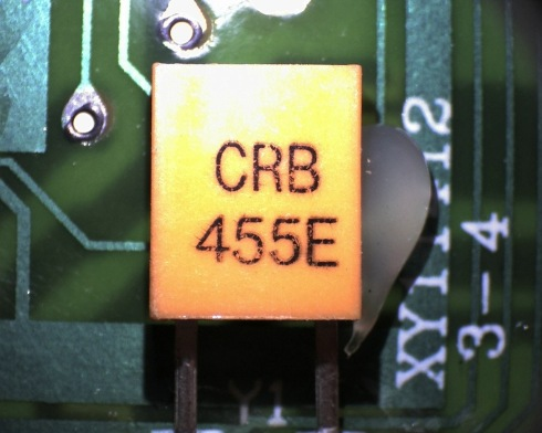"""CRB 455E."" A message for us all."