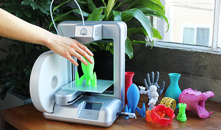 The Cube, a personal 3D printer from 3D Systems, Inc.