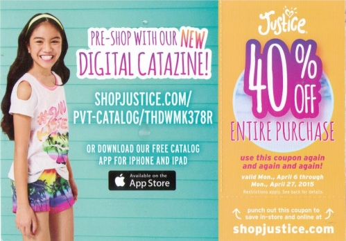 justice catazine ad