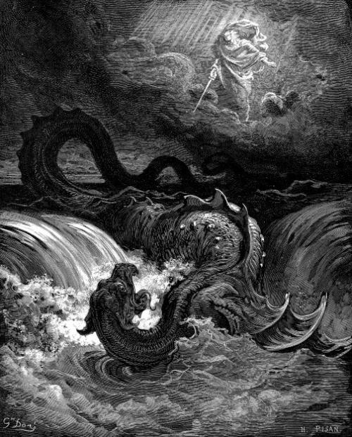 """Destruction of Leviathan,"" Gustave Doré."