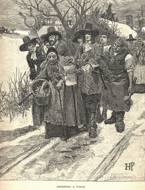 Arresting a Witch - Pyle