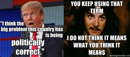 Donald Trump vs. Inigo Montoya