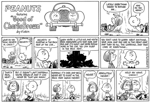 Peanuts - Aug 6, 1972