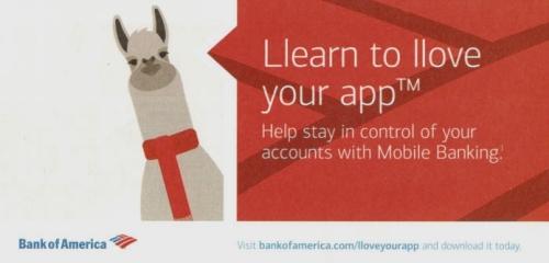 llama bank of america
