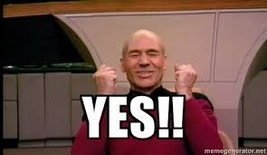 Picard says YES!